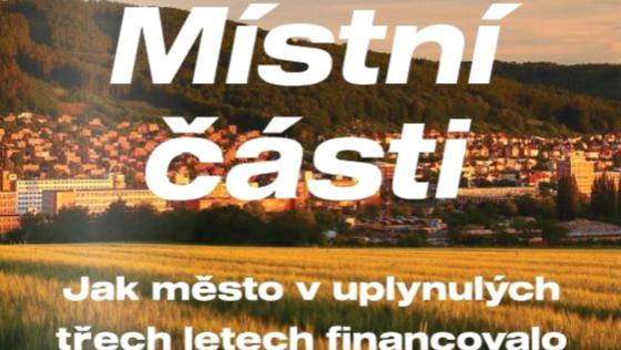 Financování Místních částí Zlína