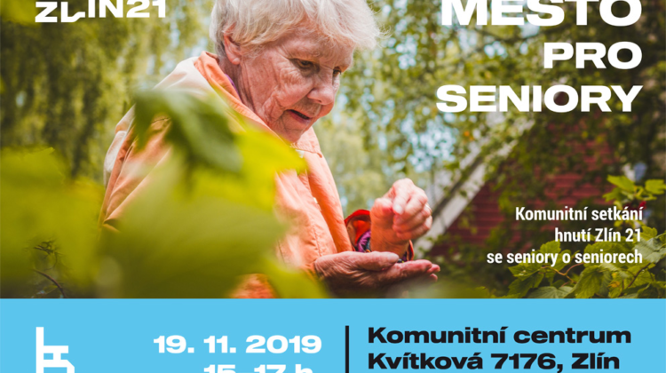 Pozvánka: Město pro seniory