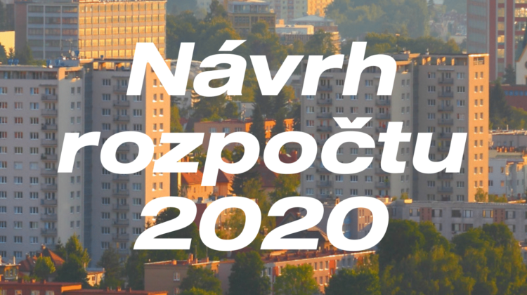 Schválený rozpočet města Zlín 2020